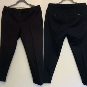 Theory Pants - Black Theory Ibbey Crop Pant
